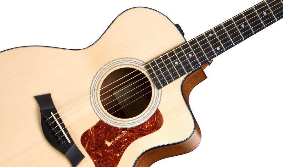 product details taylor 114ce grand auditorium acoustic electric guitar natural. Black Bedroom Furniture Sets. Home Design Ideas