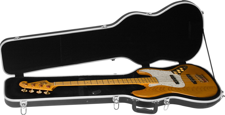 cnb bc 60 abs shaped electric bass case. Black Bedroom Furniture Sets. Home Design Ideas