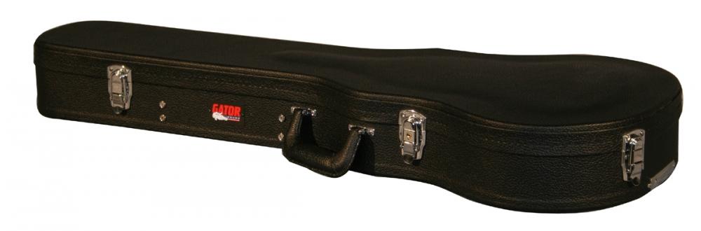 gator hard shell wood case for single cutaway guitars. Black Bedroom Furniture Sets. Home Design Ideas