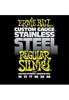 ernie ball custom gauge electric guitar string set 10 46. Black Bedroom Furniture Sets. Home Design Ideas