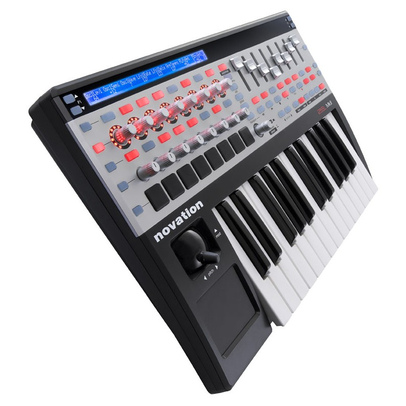 novation sl mkii 25 key usb midi controller