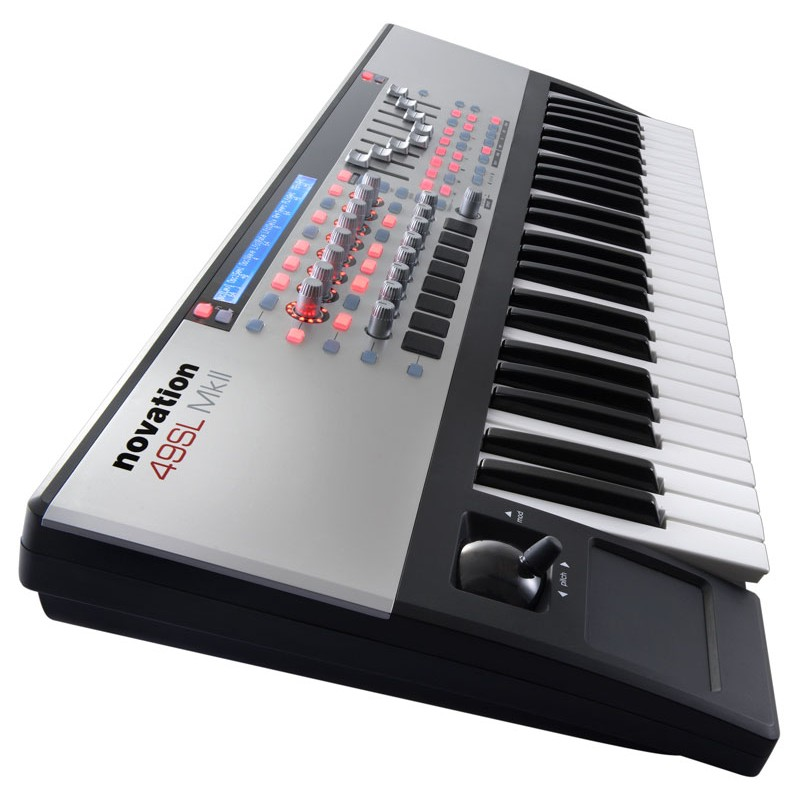 novation sl mkii 49 key usb midi controller. Black Bedroom Furniture Sets. Home Design Ideas