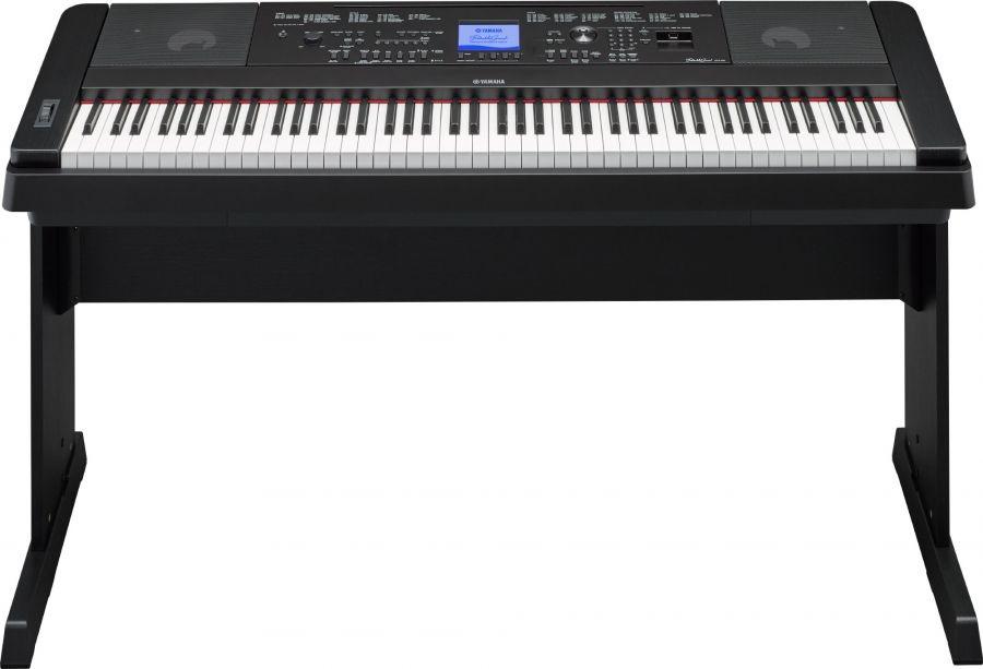 yamaha dgx 660 contemporary digital piano black. Black Bedroom Furniture Sets. Home Design Ideas