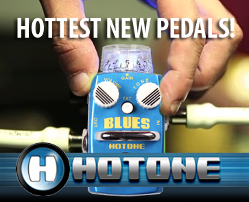 New Mini Guitar Effects Pedals from HOTONE
