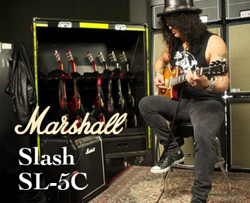 New - Marshall's Slash SL-5C 5-watt Amp