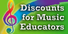 Discounts for Music Educators