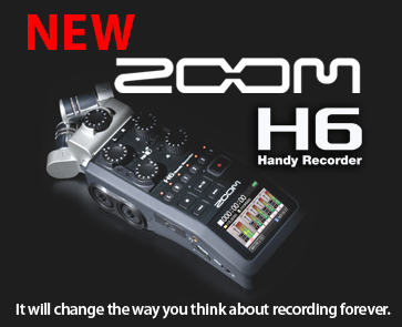 NEW ZOOM H6 Handy Recorder