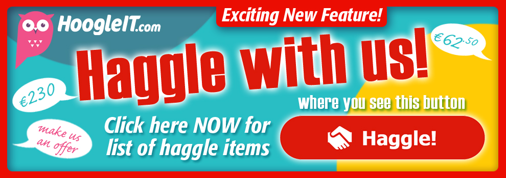 HAGGLE WITH US!
